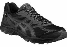 Asics GEL-FUJI TRABUCO 5 GTX Mens Trail Trainers T6J1N BLACK GORE TEX UK 12