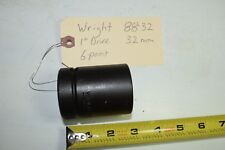 """WRIGHT 88-32 1"""" DRIVE 32mm METRIC STANDARD IMPACT SOCKET 6-POINT WRENCH USA"""