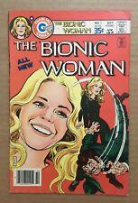 THE BIONIC WOMAN Vol.1 #1 1977 VG+