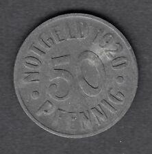 "Cassel o Kassel-notmünze 50 PF. 1920 ""STEMMA"" Funck (78.7)"