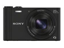 Sony Cyber-Shot Dsc-Wx350 Black Digital Camera 20x Optical Zoom Japan