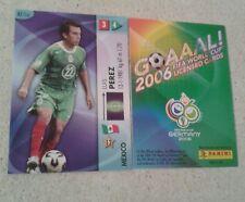FIFA 2006 World Cup Mexico LUIS PEREZ Panini Trading Card
