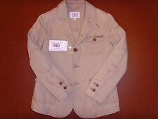New Authentic Armani Junior Boys' Beige Linen Blazer Jacket Size 10A (142cm)