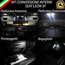 KIT LED INTERNI SEAT LEON 5F CONVERSIONE COMPLETA CANBUS 6000K