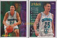 NBA FLEER 1995-1996 SERIES 2 - George Zidek, Hornets # 388 - Near Mint