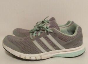 Adidas Women's Gray Galaxy Elite FF Running Shoes Size 9 - AF4592