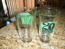 SUPER RARE DOGFISH HEAD 20TH ANNIVERSARY 20 YEARS PINT GLASS 16 OZ NEVER USED!!