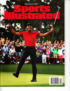 Tiger Woods 2019 Masters Win Sports Illustrated SI magazine NO LABEL ISSUE RARE!