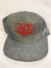 Rare Vintage Ace Hardware Trucker Hat Baseball Cap Snapback Mesh Young An