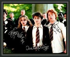 HARRY POTTER CAST A4 SIGNED AUTOGRAPHED PHOTO POSTER  FREE POST