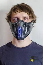 Mortal Kombat Sub-Zero Mask costume cosplay MK9 Frosty MK10 MKX Mortal kombat XL