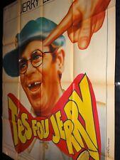 T'ES FOU JERRY Smorgasbord JERRY LEWIS affiche cinema