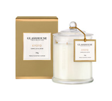 KYOTO CAMELLIA AND LOTUS Candle 350g | Glasshouse Fragrances