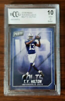 2018 Panini Football MJH Exclusive #22 T.Y. Hilton BCCG 10 Mint