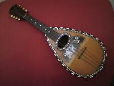 More details for antique italian torielli galliano bowl back mandolin