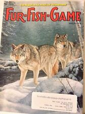Fur-Fish-Game Magazine Canadian Coyote & Wolf Hunt January 2013 081817nonrh