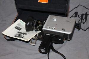 Braun Nizo S8T Super 8 Kamera mit Schneider Kreuznach Objektiv