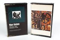 Van Halen: Women & Children First Fair Warning Cassette Tapes - Lot Of 2
