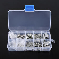 200pcs Jewelry Making Findings Starter Kit Key Chain Necklace Earring DIY Craft Gold