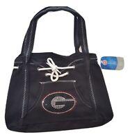 Georgia Bulldogs Fashion Hoodie Bag Sport Noir Purse By Little Earth