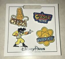 Max A GOOFY MOVIE  Disney Parks 4 Pin Set on Card Leaning Tower Of Cheeza New