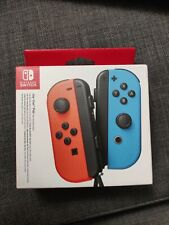 Official Nintendo Switch Joy Con Pair Neon Red Neon Blue Brand New Unopened