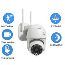 TELECAMERA IP CAM WIFI CAMERA DOME WIRELESS ESTERNO SD 2MP PTZ HD 8 LED 8167QP