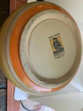 1930s Hand Painted Art Deco Grays Pottery China Bowl