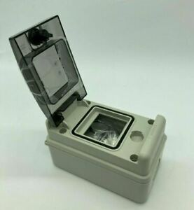Wiska Indubox Insulated IP65 3 Module Weatherproof Consumer Unit Enclosure
