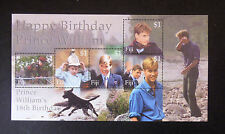 FIJI MINIATURE SHEET PRINCE WILLIAM'S 18th BIRTHDAY MNH