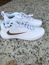 Nike Vapor Varsity Low Turf Lax Cleats Lacrosse Shoes 923492-101 Men's 7 New