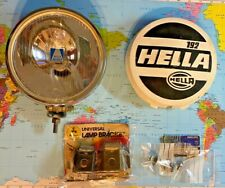 HELLA 192 Halogen Vintage Fog Driving Light Lamp - Audi Mercedes VW Porsche 911