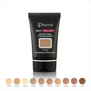 Flormar MAT VELVET Foundation Matifying Oil free firming smoothing