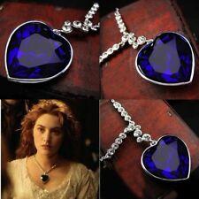 Titanic Herz des Ozeans Kette + Anhänger mit Kristall Halskette Collier Strass A