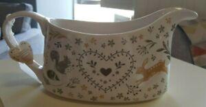 Cooksmart Woodland Collection Gravy boat / jug ,hare /squirrel /hedgehog design