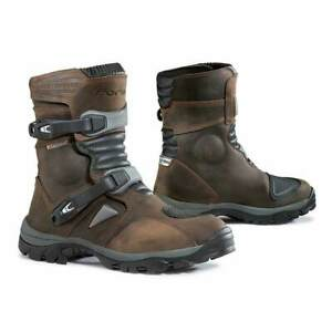 NEW Forma Adventure Low Motorcycle Boots - Brown from Moto Heaven