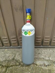 Sauerstoffflasche Sauerstoff Flasche Gasflasche 2L  200 Bar gefüllt TÜV bis 2031