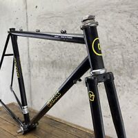 Gitane Vintage Frame Set 52cm 53cm French Black Fixie Road Bike 120mm
