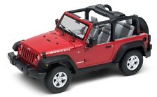 Welly Nex Models 1/24 2007 Jeep Wrangler Convertible (Rojo) # 22489WC