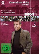 TATORT - TATORT-KOMMISSAR FINKE ERMITTELT (KOMPLETTBOX)  7 DVD NEU