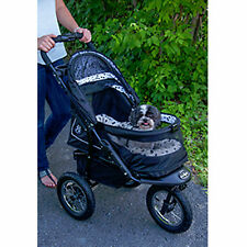 *Pet Gear Stroller Jog Walk Dalmation NV No-Zip Weather Cover 70 lbs PG8450NVD