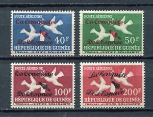 27410) GUINEA 1962 MNH** Nuovi** Space ovptd 4v