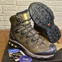 BRAND NEW W/ TAGS AND BOX!!! Salomon Quest 4D 3 GTX Hiking Boots - Men's Size 8