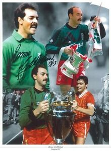 Liverpool Legend Bruce Grobbelaar signed 16 x 12 print -  with COA