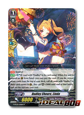 Cardfight Vanguard  x 4 Dudley Cheers, Linda - G-BT09/038EN - R Mint
