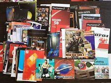 Pack Folletos-Publicidad-Manuales y + Playstation 2, Sega, Xbox.. Brochures