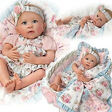 "Ashton Drake So Truly Real ""Gabby Rose"" w/ basket NIB"