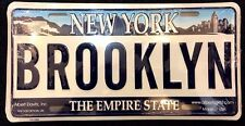 Brooklyn License Plate, New York License Plate, NYC Souvenir, Made in USA!