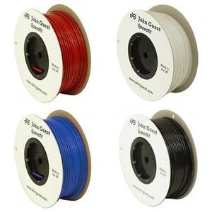 John Guest LLDPE Pipe Tube 1/4 3/8 1/2 4 6 8 10 12 Water Filter / Pneumatic Air
