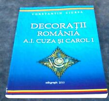 Romania Orders & Medals Catalogue 1st Volume by Ciurea - Cuza & King Charles